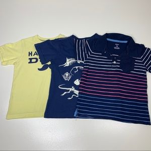 Carter's Boys Bundle of 3 Shirts